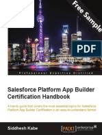 Salesforce Platform App Builder Certification Handbook - Sample Chapter