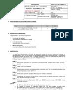 Reporte de Inspeccion Nº21 Dosificador de Concreto ODISA