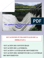 (1)Ecuaciones Fund. de La Hidraulica