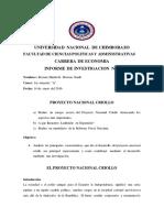 Proyecto Nacional Criollo