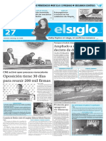Edicion Impresa El Siglo 27-04-2016