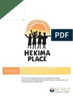 hekima place final client report 4-16