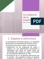 8 La Sustancia de La Arquitectura