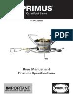Primus OmniFuel Stove Manual