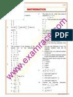 Mathematics Objective Questions Part 5
