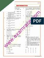 Mathematics Objective Questions Part 8