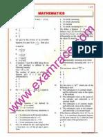 Mathematics Objective Questions Part 12