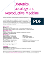 Editorial Board 2015 Obstetrics Gynaecology Reproductive Medicine