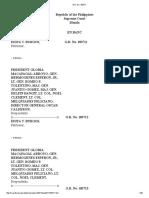 Edita T. Burgos vs Pres. Gloria Macapagal-Arroyo, Gen Hermogenes Esperon Jr Et Al. Gr 183711, 183712,183713  FULL CASE