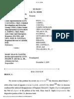 Gen. Avelino I. Razon, Jr. Et Al. vs Mary Jean Tagitis GR No. 182498 FULL CASE