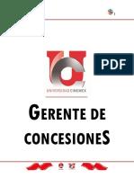 Manual de Gerente Conceciones Cinemex