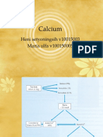 Calcium and the metabolism/ interpretation clinical data of calcium