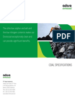 Envirocoal Coal Specs 2015