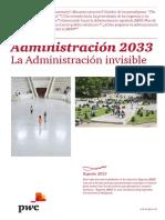 Administración 2033. La Administración invisible.