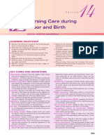 Nursing Care During Labour and Birth Lowdermilk