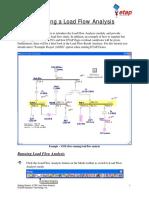 Load Flow Analysis (ETAP)