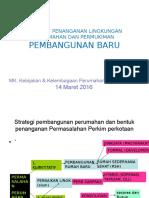 Strategi Penanganan Lingkungan Perkim Pembangunan Baru