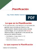 Planificación - Organización y administración de empresas