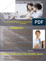 Role of Fertility Nurse Training