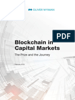 BlockChain in Capital Markets