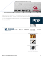 The Institute of Internal Auditors MALAYSIA _ Certified Internal Auditor