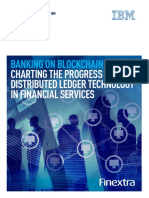 Banking on Blockchain