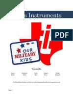 texas instruments proposal