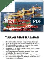 BAB 3 Shiping and International Liner