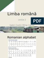 Romanian Language L.2