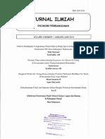 Efektivitas Penerimaan Pajak Mineral Bukan Logam Dan Batuan Di Kabupaten Bantul (Nina Yulianasari) Jurnal Ilmiah Ekonomi Pembangunan Vol 8 Jan-juni 2014
