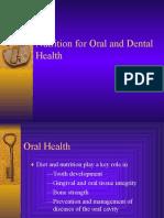 Oral& Dental Health Lecture Slides