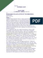 3. Garcia v. Sandiganbayan, G.R. NO. 165835, June 22, 2005