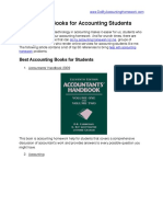 Best Accounting Books for Students