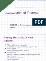 产品的热设计(Thermal Introduction)