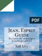 Jean, Esprit Guide - Joel Ury