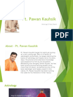 Astrologer in Gurgaon - Pt. Pawan Kaushik
