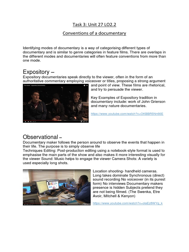 task 3 | Documentary Film (33 views)