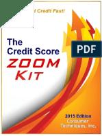 The Credit Score Zoom Kit 2015 PDF eBooks