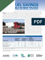 Fuel Savings in Trucks FS