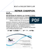 HOW to BEAT a COLLECTION LAW SUIT by Credit Repair Champion Llc Business Funding & Consulting