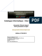 Catalogue Grossiste Chinois Import - Informatique-Cles-USB-cartes