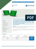 MSL Data Sheet - Model Numbers MDU1720