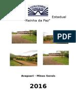 Modelo de REGIMENTO ESCOLAR da Escola Estadual Rainha da Paz