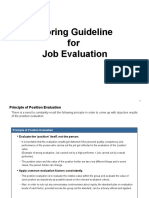 Job Evaluation Guideline