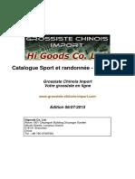 Catalogue Grossiste Chinois Import Sport Et Randonnee Sacs a Dos