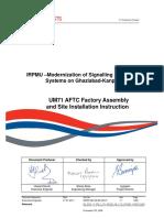 UM71 AFTC Assembly and Installation Instruction (v 1 1)