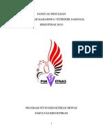 PANDUAN PIMVETNAS 2015
