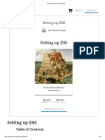 Read Setting Up ES6 _ Leanpub