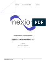 GoodX integration appendix to Nexion User Manual v2 6