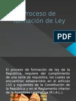 Proceso de Formación de Ley El Salvador